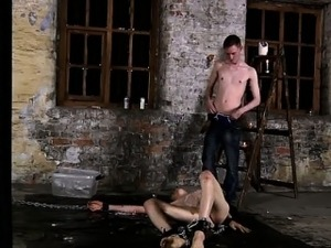 Gay XXX His man-meat is encaged and unable to spring to full