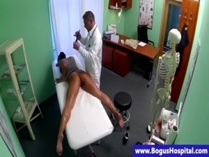 Reality patient fingerfucked by doctor free