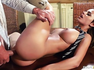 Touching the tutor anal gangbang