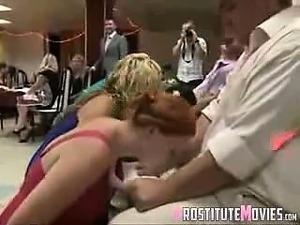 Funny contest blowjob