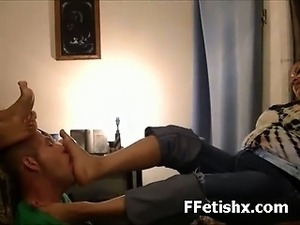 Alluring Leg Fetish Sex For Girl