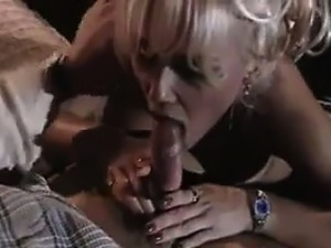 Blonde MILF Gets Some Cock