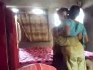 Horny Bengali wife secretly sucks and fucks in a dressed quickie, bengali...
