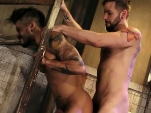 Draven\'s strip-searched and probed to satisfy Preston\'s lust