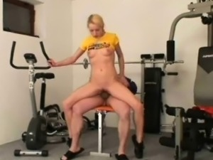 Another gym seduction