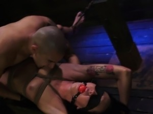 Teen bdsm throated hard