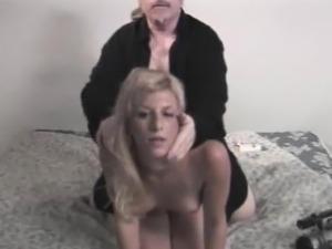 Natalie Gives Ed Powers A Hot Blowjob