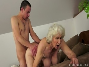 Granny Norma comes back more horny than ever free