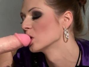 Busty girl blowjob