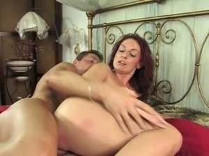 NastyPlace.org - Natural Italian Busty Mature Want Young Dick in Asshole free