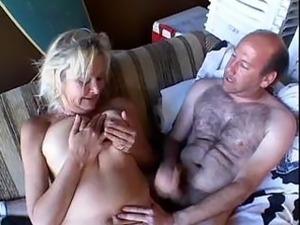 Blonde Granny Anal