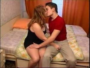 Russian Boy Fucking Mom on Bed free