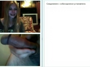 Webchat 003 Girls look at my sudden dickflash
