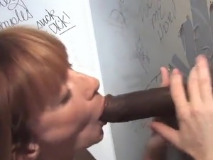 Nice Hoe has mixed race xxx inside A Toilet surrounding Gloryhole thang