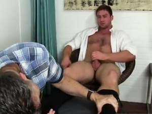 White gay muscle men having sex in locker bathroom and so yo