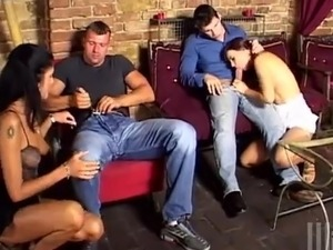 2 Swinger Couples Swap And bump inside the crazy Foursome