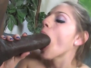 Hot black haired Cheerleader has got laid By great ebony ram rod