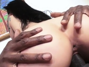 PervCity Katrina Jade Cums When Fucked By Big Black Cock