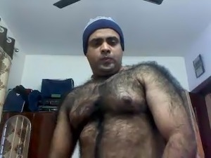 Very Hairy Indian Bangalore Guy
