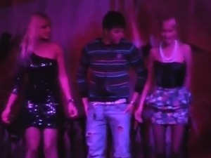 Hammered Clubbing Blonde has the shag inside A Toilet