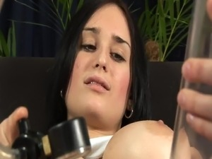 Nike Pumps And Fingers Her twat And Pees onto A sofa inside Solo vid