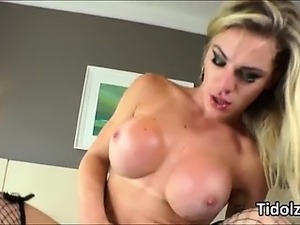 Curvy TS whore Nikolly Gaucha take turns fucking with stud