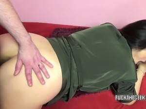 Busty housewife Alesia Pleasure is taking some dick