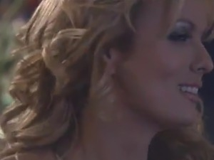 Curvy honey close by huge breasts screws the man inside A Toilet