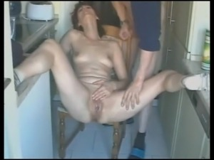 hot amateur fisting - hubbys wanking pleasure
