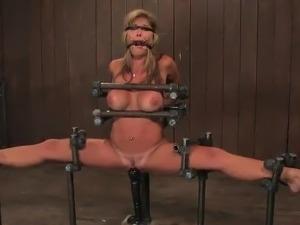 Bosomy Blonde Felony has Punished For Being So Nasty