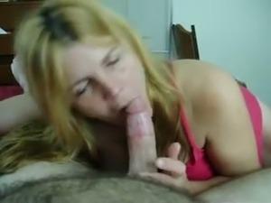recently divorced mom janet  already suckin' strange cock