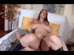 beauty with big tits gets anal
