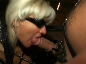 Dolores Dirty blowjob