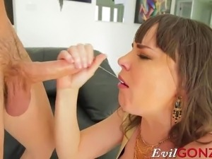 Stepmom wants a huge cock in her asshole