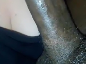 White BBW sucking dick on snapchat