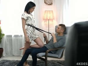Sexy Seductive Teen Gets Creampied!
