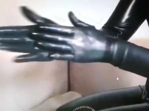 DIRTY TALK LADY IN SEXY CATSUITE NR1