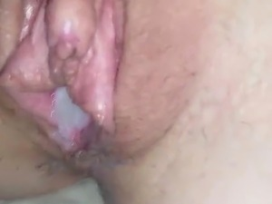 Creampie with dripping cum