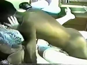 Interracial retro video