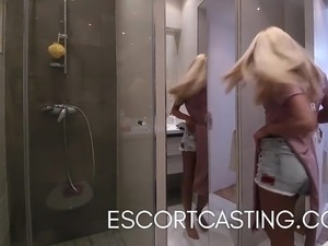 Real Escort Video of Teen In Paris Flat