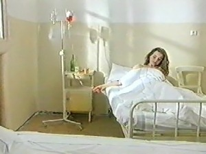 amputee in hospital