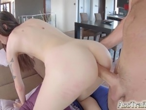 Ass Traffic Polish fox Misha Cross does great anal with wide