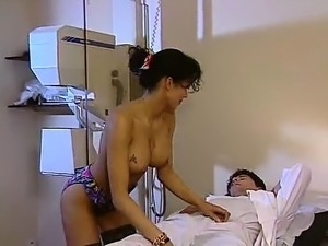 Sexy Indian nurse treats her individual great