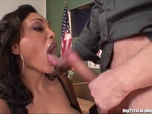 Busty Mom Fucks A Teacher