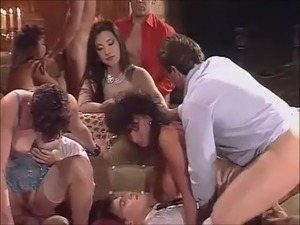 Big Vintage Group Sex