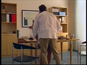 French Office Fuck