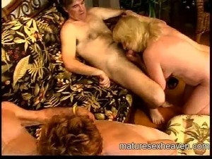 Granny's Mature Sex Party Part 4