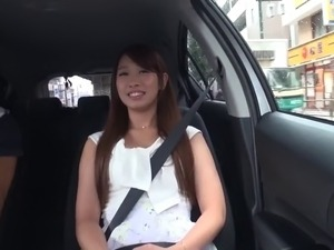 Japanese beauty with lovely tits loves great sex