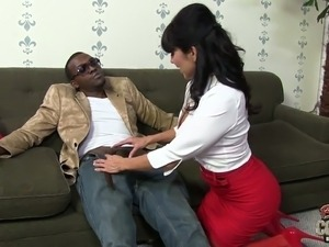 Addicted to black dicks Tara Holiday goes wild on BBC