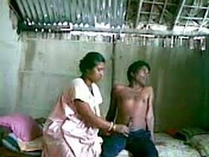 My slutty Indian maid fucks with her boyfriend on hiddem cam
